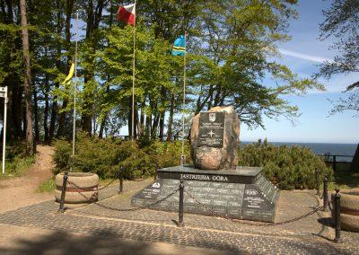 Obelisk Gwiazda Północy w Jastrzębia Góra